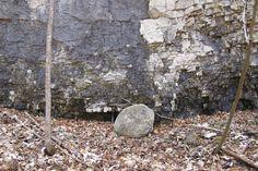 Dolomite rock outcrop