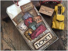 iGirlZoe: Tim Holtz Ticket Booth