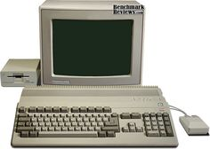 The Commodre Amiga is perhaps appropriate in a metaphysical way, since it was probably the first computer with a discrete graphics system.