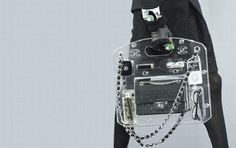 Chanel Does A See Through Briefcase Look At Paris