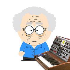 Bob Moog.