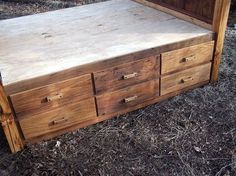 rustic platform beds with storage. Contemporary Platform Custom Made 12 Drawer Rustic Reclaimed Wood Platform Storage Bed Inside Beds With F