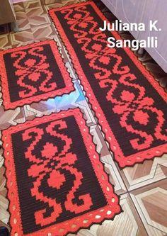 Crochet Carpet, Tablerunners, Crochet Stitches, Bohemian Rug, Tapestry, Blanket, Home Decor, Crochet Blankets, Rugs