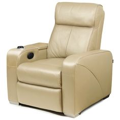 Premiere Home Cinema Chair Beige Cinema Chairs, Saddle Chair, Work Station Desk, Ergonomic Office Chair, Beige, Bars For Home, Home Living Room, Ideal Home, Recliner