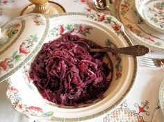 "Kenwood Christmas Menu: ""All the Trimmings"" Spiced Red Cabbage with Apples Recipe"