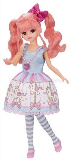 Takara-Tomy-Licca-Doll-Merry-go-round-Licca-Chan