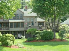 Windward Way, Moultonborough, NH, as presented by Verani Realty.   I love setting, doesn't even look like a condo.