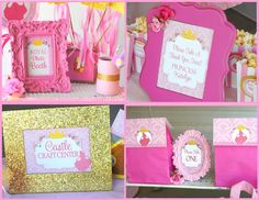 Sleeping Beauty Party - SIGNS - Disney Princess Party - Aurora Party- Girls Birthday- Pink Princess - Woman- Bridal Shower -INSTANT Download on Etsy, $3.00
