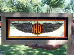 harley davidson stained glass - Google Search