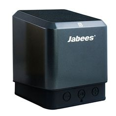 Jabees QubicTWS Bluetooth Wireless Speaker Supports Connection with 2nd Qubic for True Wireless Stereo with 10 Hour Music Playback Ultra Bass Subwoofer and Surround Sound NFC BuiltIn Mic Gray >>> More info could be found at the image url.