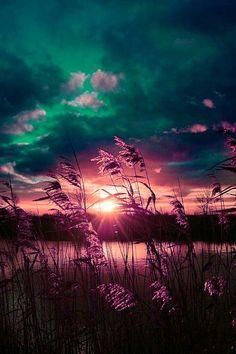 el cielo es como una lamina oscura que se aleja perpetuamente... tú eres a veces como el cielo <3