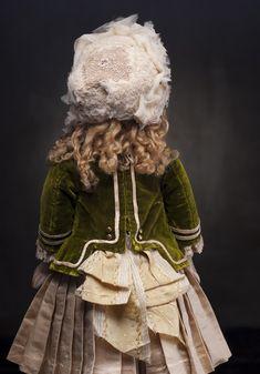 Редкая кукла фирмы Штайнер - модель Феникс, 56 см - на сайте антикварных кукол.
