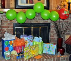 Very Hungry Caterpillar Party decorations