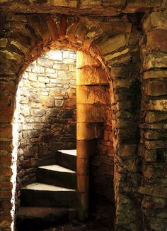 Well, maybe not LIVE here, but would make a great mad scientist or cool dungeon!  Great style of stonework.