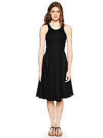 Mix-fabric racer dress. Snag substantial discounts up to 40% Off at Gap using Discount & Voucher Codes.