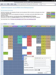 Online ouderavond planner
