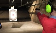 Take aim with your choice of .45 handgun or semi-automatic rifle, or try your hand at a laser-guided steel target game