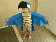 Utilitarian Mom: Projects: Rio Movie Blu And Jewel Costumes
