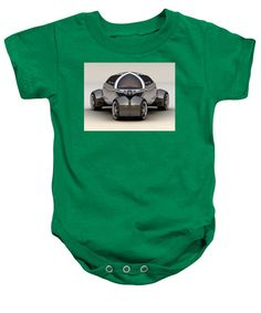 Baby Onesie - Platinum Car 010