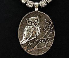 Vogue Crafts & Designs Pvt. Ltd. manufactures Silver Owl Pendant at wholesale prices.