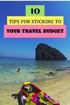10 best tips for sticking to a travel budget. After many years backpacking around the world, we have put together our 10 best budget tips for travel. #traveltips #ttot #savingtips