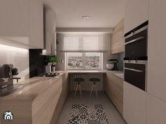 U Shaped Kitchen Interior, Modern Kitchen Interiors, Kitchen Room Design, Kitchen Dinning, Modern Kitchen Design, Home Decor Kitchen, Kitchen Furniture, Luxury Kitchens, Home Kitchens