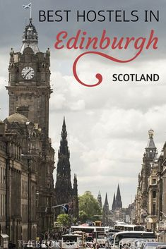 the best hostels in Edinburgh