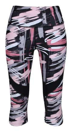 For Soft And Flexible Yoga Leggings That Feel As Great As They Look, Go For Tikiboo's Artistic Chaturanga Yoga Length LYCRA Pants. With Mesh Panels Above The Knee For Extra Breathability And Airflow, You Can Balance And Bend In Style. Yoga Capris, Yoga Leggings, Squat, Recovery, Mesh, Training, Fabric, Shopping, Dresses