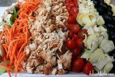 The Best Barbecue Chicken Cobb Salad