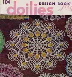 Pineapple Doily    Doilies Book No. 83  Lily Mills Company  1958