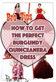 Burgundy Quinceanera gowns - Need help on setting up a quinceanera including tips? and lists,. Begin shopping for your Quinceanera dress as well as accessories. Decide on your honor the bid day of yours with the subsequent recommendations. Quince Dresses, 15 Dresses, Cute Dresses, Burgundy Quinceanera Dresses, Bid Day, On Set, Event Planning, Girl Birthday, How To Memorize Things