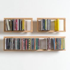 """If you've been looking for a different approach on decorating your home, the industrial furniture design for the """"Shelf B"""" is the perfect choice. Industrial Design Furniture, Home Decor Furniture, Furniture Design, Cd Diy, Cd Storage, Floating Bookshelves, Cupboard Shelves, Shelf Design, Shop Interior Design"""