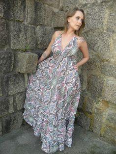 Vestido Deusa Longo 14