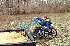 ADA Special Needs Sand Diggers :: Special Needs Playground Equipment
