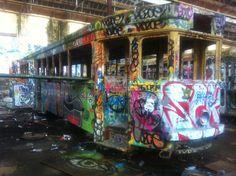 Glebe Tram Yard - Sydney