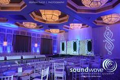 Orlando ~ Stunning Four Seasons Resort at Disney with Soundwave LED Lighting Design for the Solutions Bridal fashion show.  Photo by Damon Tucci, djsoundwave.net