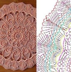 Marion pattern by grace fearon – ArtofitBeautiful crochet doilies by ИThis Pin was discovered by kar Crochet Mandala Pattern, Crochet Circles, Crochet Diagram, Crochet Stitches Patterns, Filet Crochet, Lace Doilies, Crochet Doilies, Crochet Flowers, Doily Rug