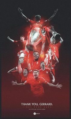 His last game on Anfield today :((((((