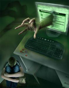 Bagi anak anda yang diidentifikasikan berpeluang atau kedapatan melakukan cyberbullying, beritahu mereka tentang dampak hukum, jangan mengancam namun berilah pemahaman yang baik tentang etika pergaulan baik di dunia maya maupun di dunia nyata. Perlu dicatat anak-anak korban  cyberbullying, terkadang melakukan penyerangan yang sama untuk tindakan balas dendam.