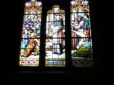St Yves multipliant le blé, dans l'église St-Chéron à Cavan (22).