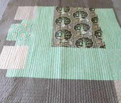 Woodland Owl Baby Quilt by homesewnbychristine on Etsy