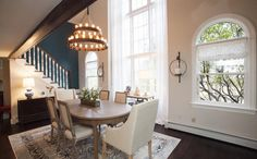 property brothers 2015 - carlie and drum - sherwin williams modern gray - accent wall sw deep sea dive