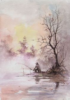 lovely watercolor by april #watercolorarts