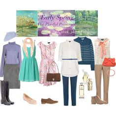 Zylas Early Spring: The Playful Princess by keekii on Polyvore featuring картины, Spring, early and Zyla