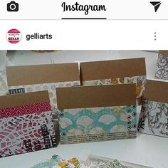 My cards were just featured on the gelli arts page. #bosslady #slay #cardmaking #papergeometryco