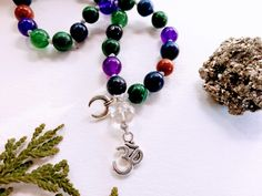 a spiritual tool for mantras, prayer and meditation. Modern Witch, Powerful Women, Prayer, Meditation, Spiritual, Magic, Gemstones, Beads, Crystals