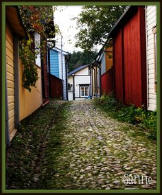 Porvoo, Finland by Sanne62, via Flickr