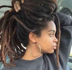 Beautiful long thick locs~                                                                                                                                                      More