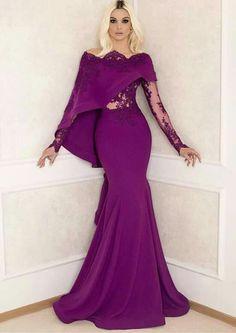 Amazing purple dress
