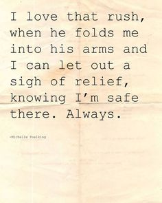 Every single time I'm in his arms or he is just with me!❤️❤️